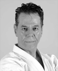 "Tanzadeh Sensei, author of the book ""Dynamic Shitoryu Karate"""