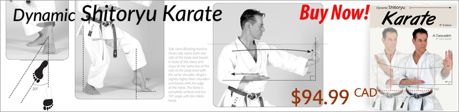 Dynamic Shitoryu Karate By Kyoshi Tanzadeh - Click to BUY!